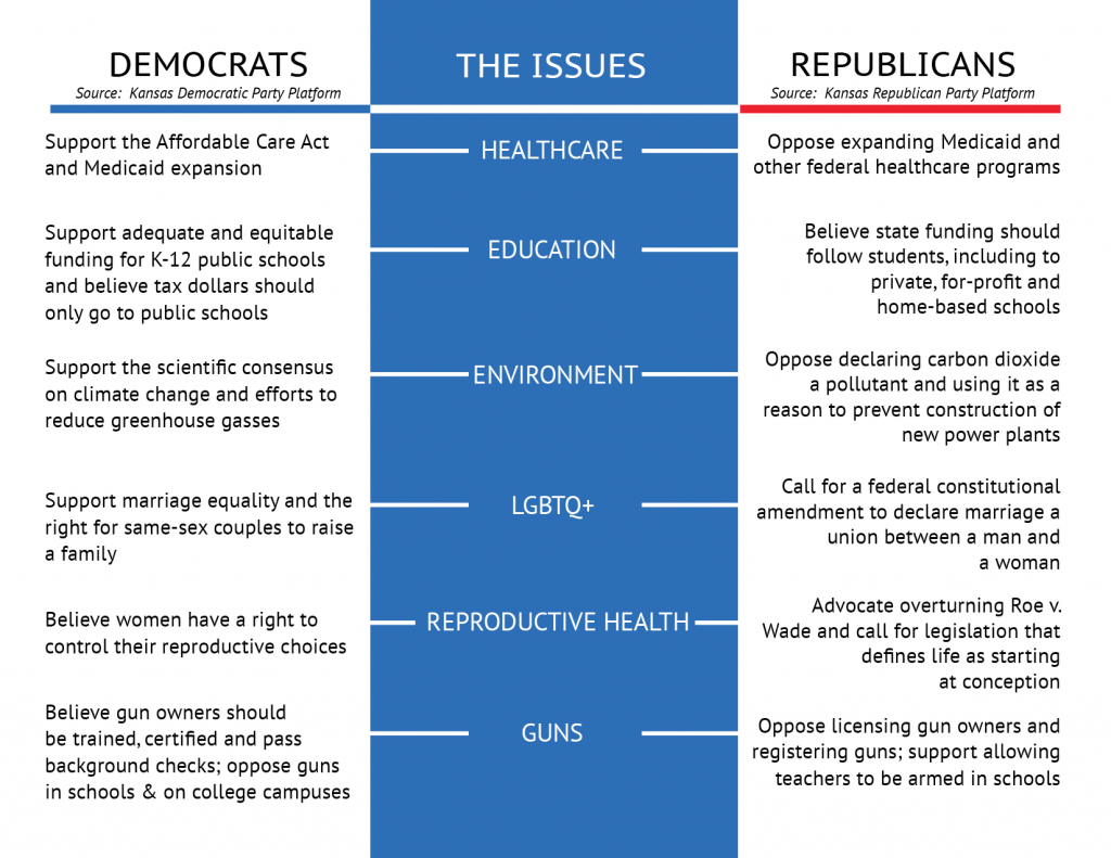Compare Your Values to the Party Platforms